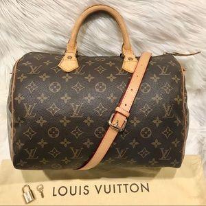 Authentic Louis Vuitton Speedy Tote #9.9P